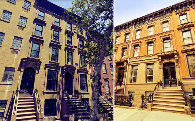 31 Schermerhorn Street and 234 Clinton Street in Brooklyn (Credit: Google Maps, StreetEasy)