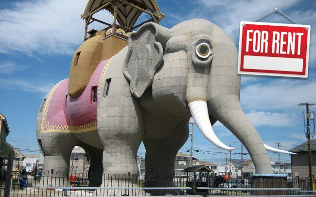 Lucy the Elephant is for rent (Credit: iStock)