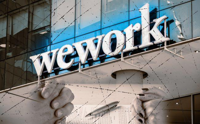 The document threatened a lawsuit against WeWork at a time when it was still in the midst of rapid growth and fundraising (Credit: Getty Images)