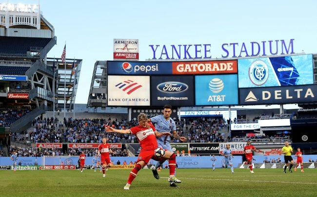 NYCFC is close to a deal for its own stadium (Credit: Getty Images)