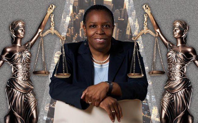 Tax Equity Now policy director Martha Stark (Credit: NYU Wagner, iStock)