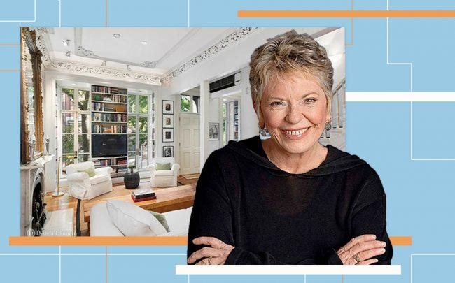 Linda Ellerbee and 17 St. Luke's Place