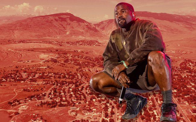 Kanye West and his family seem to be fitting in with the small town community of Cody, Wyoming (Credit: Wikimedia Commons, Photo by Timothy Norris/Getty Images for Coachella)