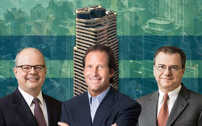 2 Grand Central and from left Rockwood Capital's Walter Schmidt, Robert Gray and Peter Falco (Credit: iStock)
