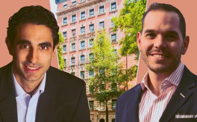 TriArch Real Estate Group founder Chris DeAngelis and Pebb Capital principal James Jago