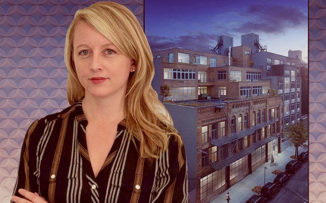 Compound CEO Janine Yorio and a Clinton Hill property available to users on Compound