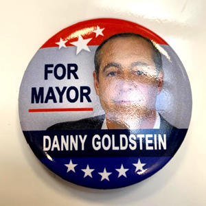 Danny Goldstein's Campaign button