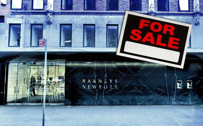 Barneys at 101 Seventh Avenue (Credit: Google Maps, iStock)
