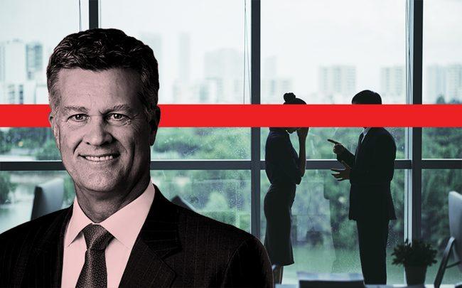 Brett White, CEO of Cushman & Wakefield (Credit: iStock; Cushman & Wakefield)