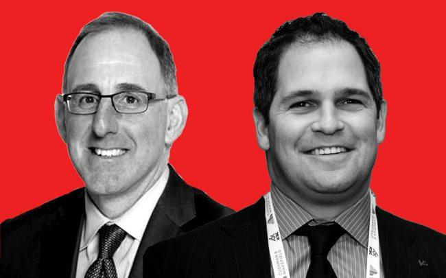 Apollo Commercial Real Estate Finance CEO Stuart Rothstein and RedSky Capital principal Benjamin Bernstein (Credit: Apollo and ICSC)