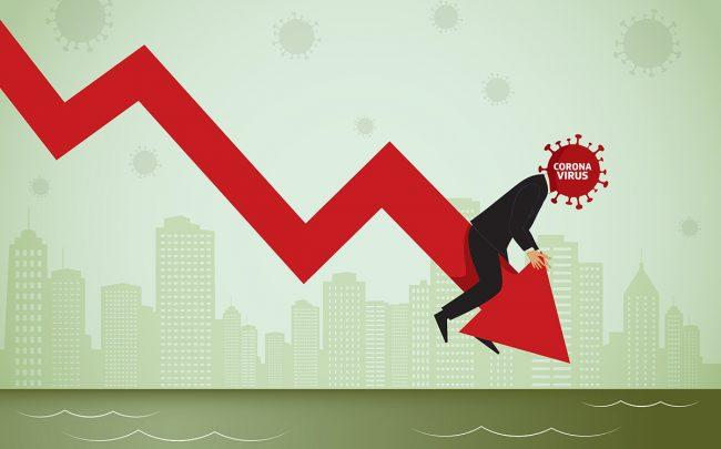 Real estate stocks sank Monday morning (Credit: Vectorios2016/iStock)