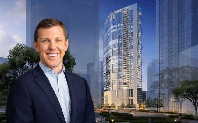 Cresset Partners Nick Parrish, The Preston in Houston (Credit: Hines)