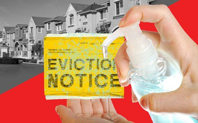 Tenant group Housing Justice for All is using the coronavirus crisis to demand a moratorium on evictions. (Credit: iStock)
