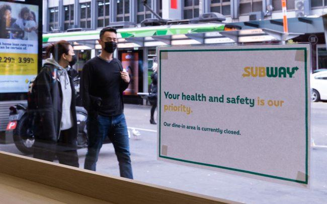"Subway sent its landlords a ""force majeure"" letter last week (Photo by Mikko Robles/NurPhoto via Getty Images)"