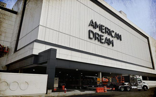 The American Dream mega mall (Credit: TIMOTHY A. CLARY/AFP via Getty Images)