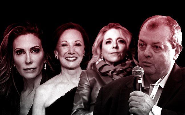 From left: BHS' Bess Freedman, Halstead's Diane Ramirez, Cororan's Pam Liemban and REBNY's James Whelan (Credit: Getty Images