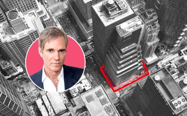 Safehold's Jay Sugarman and 685 Third Avenue (Credit: iStar and Google Maps)