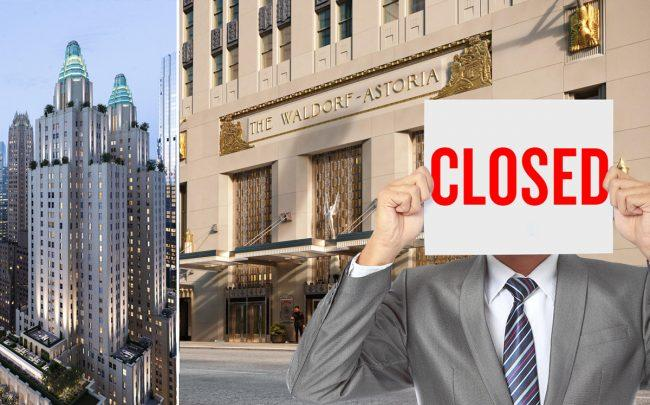 Douglas Elliman Development Marketing closed all its on-site sales offices and galleries until the end of March for health and safety concerns (Credit: iStock; Douglas Elliman)