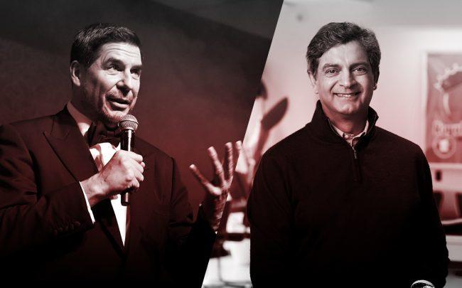 WeWork's Marcelo Claure and Sandeep Mathrani (Credit: Getty Images)