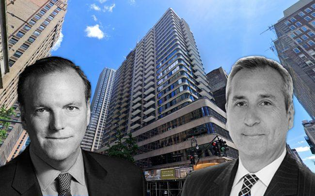 980 Avenue of the Americas and Vanbarton Group's Richard Coles and Gary Tischler (Credit: Google Maps)