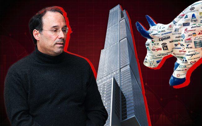Gary Barnett, Central Park Tower, and the Tel Aviv Stock Exchange Bull (Credit: Wikipedia, iStock)
