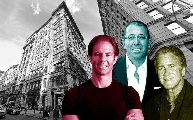Michael Shvo, Thor Equities' Joe Sitt, Wharton Properties' Jeff Sutton and 530 Broadway