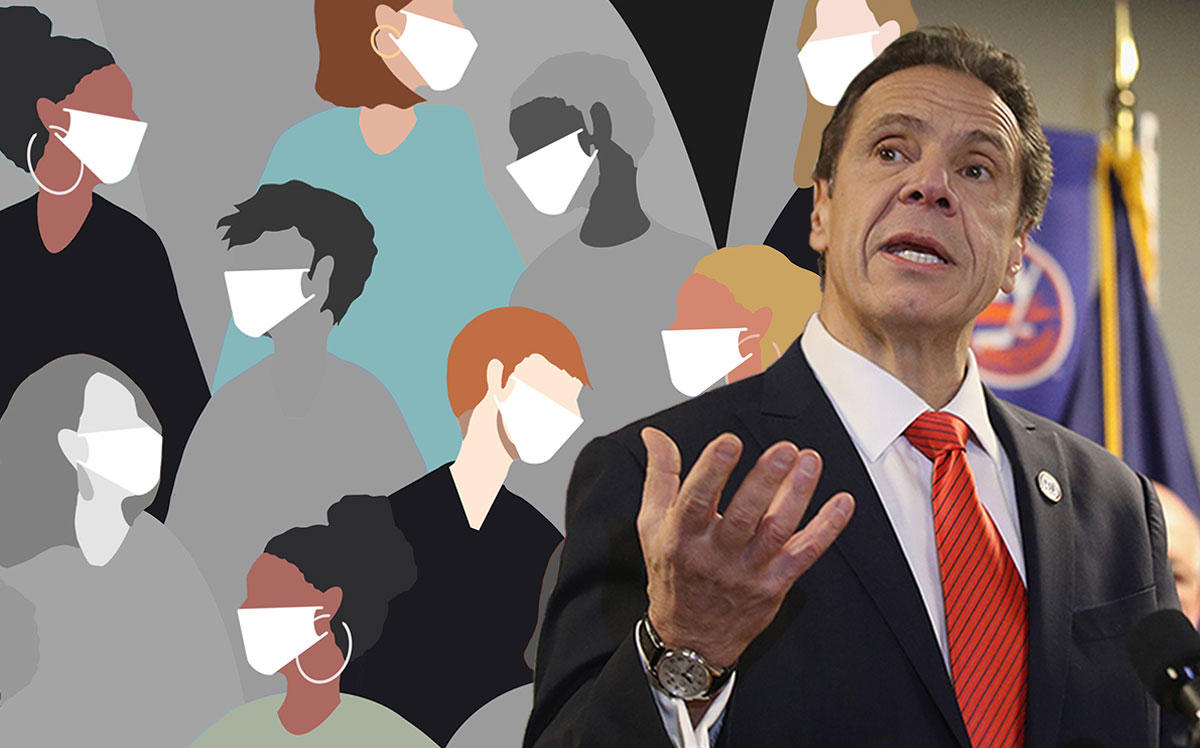 Gov. Andrew Cuomo (Credit: Bruce Bennett/Getty Images, iStock)