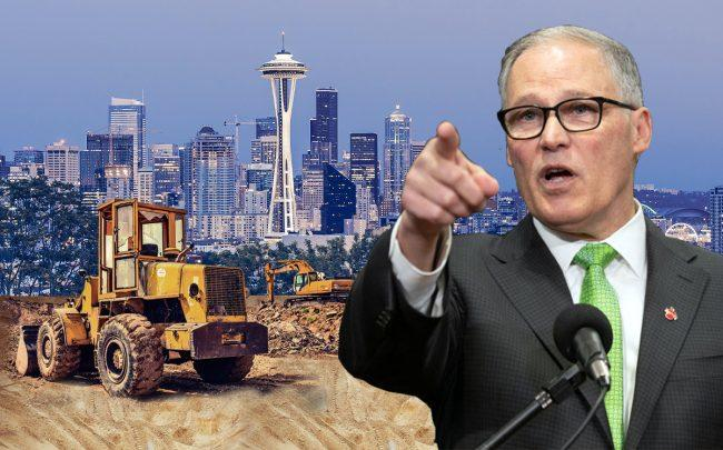 Washington State Governor Jay Inslee (Credit: John Moore/Getty Images)