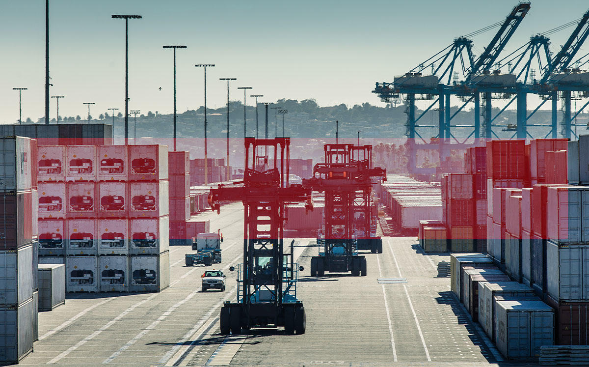 The Port of Los Angeles (Credit: iStock)