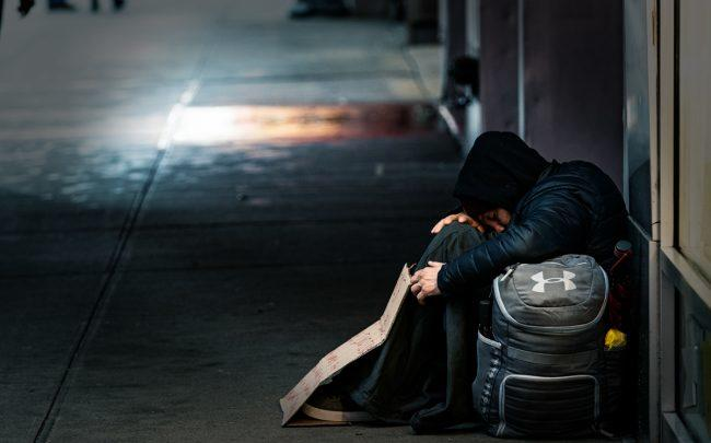 New York officials announced six new cases of coronavirus in six separate homeless shelters. (Photo byJeenah Moon/Getty Images)
