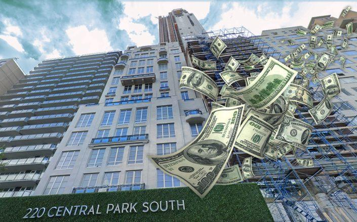 220 Central Park South (Credit: Google Maps, iStock)