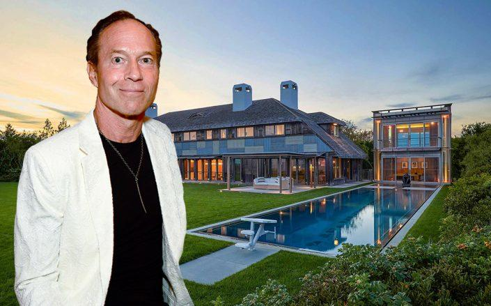 Barry Rosenstein and his Hamptons home (Credit: Aurora Rose/Patrick McMullan via Getty Images, Bespoke Real Estate)