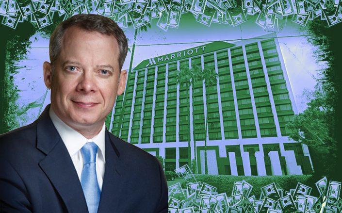 Monty Bennett and the Beverly Hills Marriott (Credit: Google Maps, iStock)