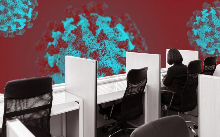 When the coronavirus crisis subside, offices could do away with hot-desking (Credit: iStock)