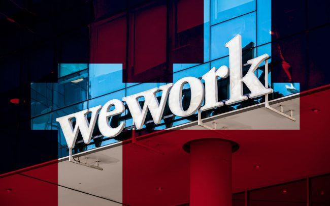 A WeWork office (Credit: Alex Tai/SOPA Images/LightRocket via Getty Images)