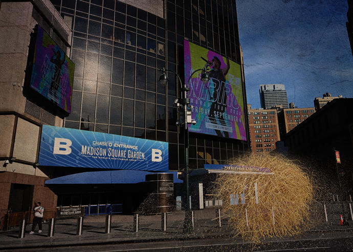 Coronavirus Crushing Madison Square Garden, Barclays ...