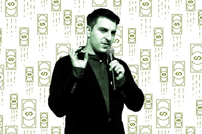 Airbnb CEO Brian Chesky (Chesky by Bryan Bedder/Getty Images for Airbnb)