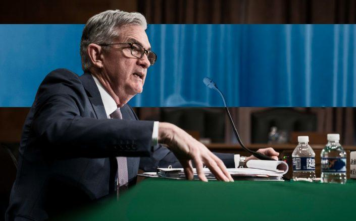 Federal Reserve Chairman Jerome Powell (Photo by Sarah Silbiger/Getty Images)