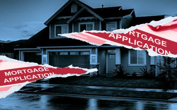 The number of loan applications for home purchases fell sharply last week (Credit: iStock)