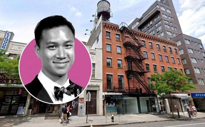 Jeffrey Lam of Lam Generation and 55-59 Chrystie Street (Credit: LinkedIn; Google Maps)