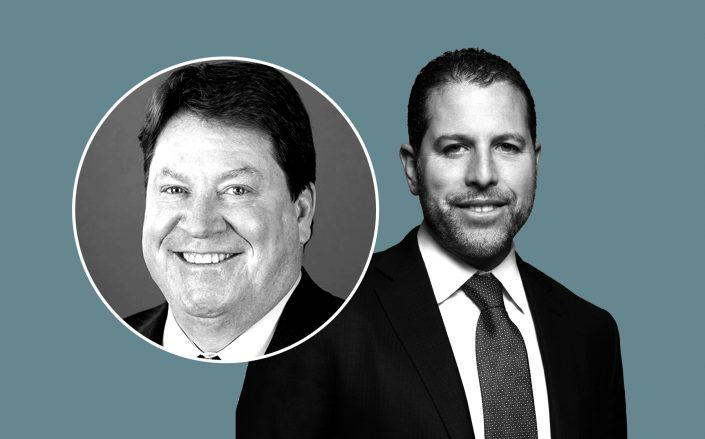 Ladder Capital's Brian Harris and Madison Realty Capital's Josh Zegen (Credit: Ladder Capital; Madison Realty Capital)