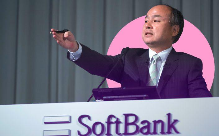 Softbank CEO Masayoshi Son (Photo by Tomohiro Ohsumi/Getty Images)
