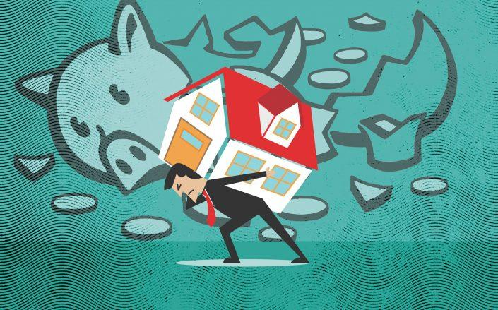 Homeowners are halting mortgage payments as forbearance rates surge. (Credit: iStock)
