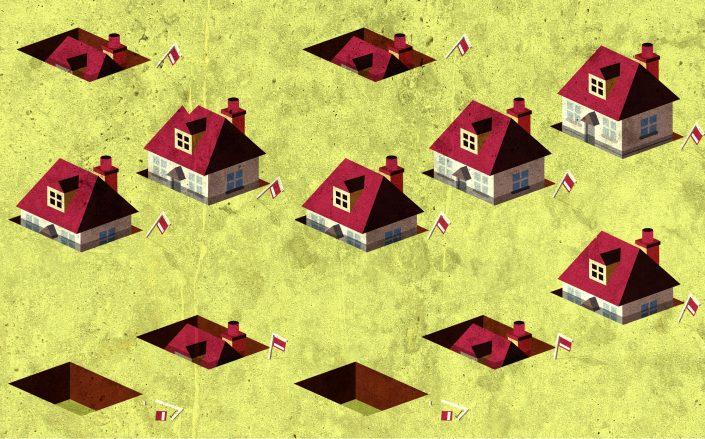 New listings are down in what is usually the busiest season for home buyers. (Credit: iStock)