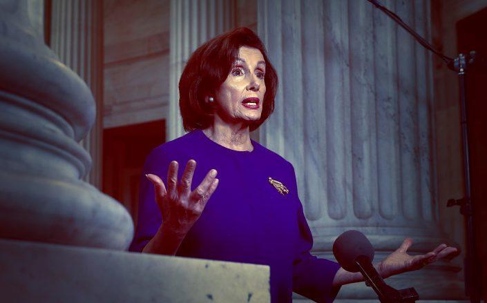 House Speaker Nancy Pelosi (Credit: Chip Somodevilla/Getty Images)