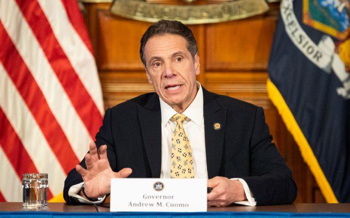 Governor Andrew Cuomo (Credit: Michael Brochstein / Echoes Wire/Barcroft Media via Getty Images)