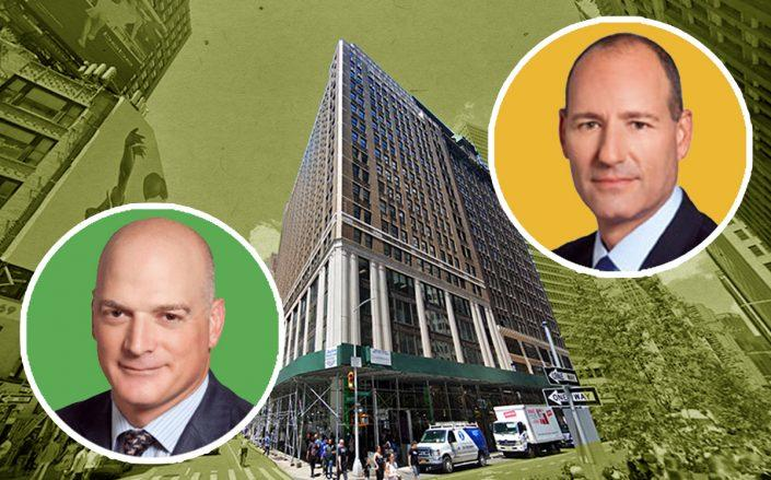 Christopher Schlank, Nick Beinstock and 1375 Broadway (Credit: Google Maps)
