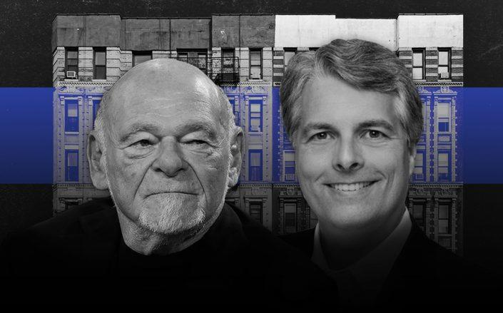 Sam Zell and Mark Parrell headshots (Credit: John Lamparski/Getty Images, iStock)