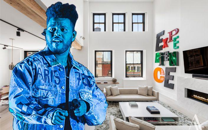 Abel Tesfaye aka The Weeknd and 433 Greenwich Street Penthouse D (Credit: Gina Wetzler/Redferns via Getty Images)
