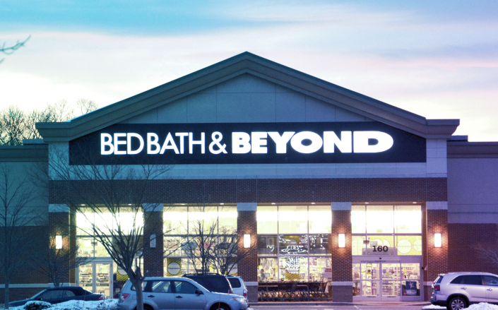 Bed Bath & Beyond is planning to reopen 600 U.S. stores as states begin to wind down shelter-in-place orders. (Getty)